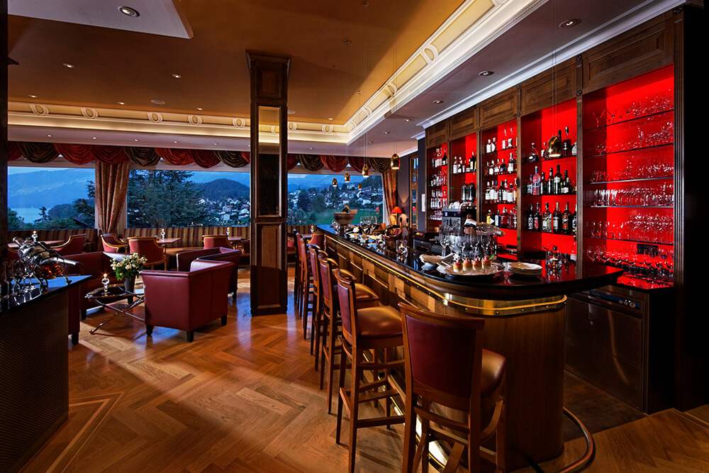 Bar im Hotel Eden in Spiez
