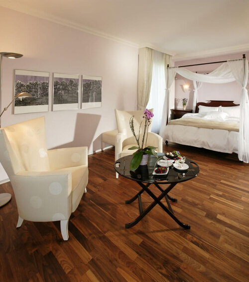 hotel rooms and apartments at Hotel Eden Spiez