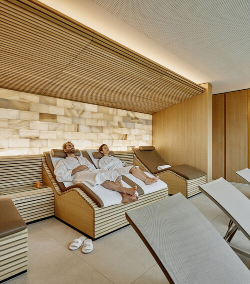 Spa and wellness area at Hotel Eden Spiez