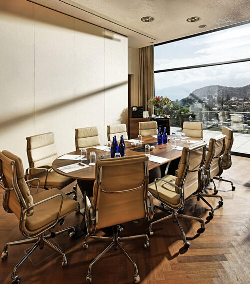 Conference and meeting rooms at Hotel Eden Spiez